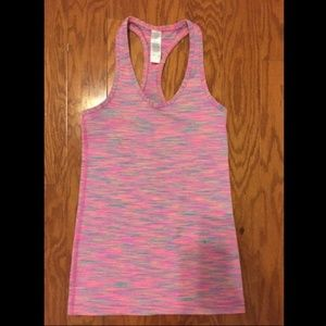 Ivivva Girls Racerback Tank Top in pink (size 10)